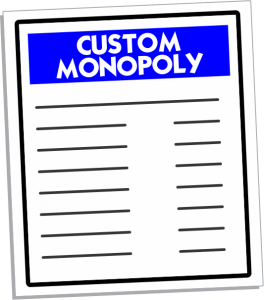 Custom Monopoly Games Manufacturer