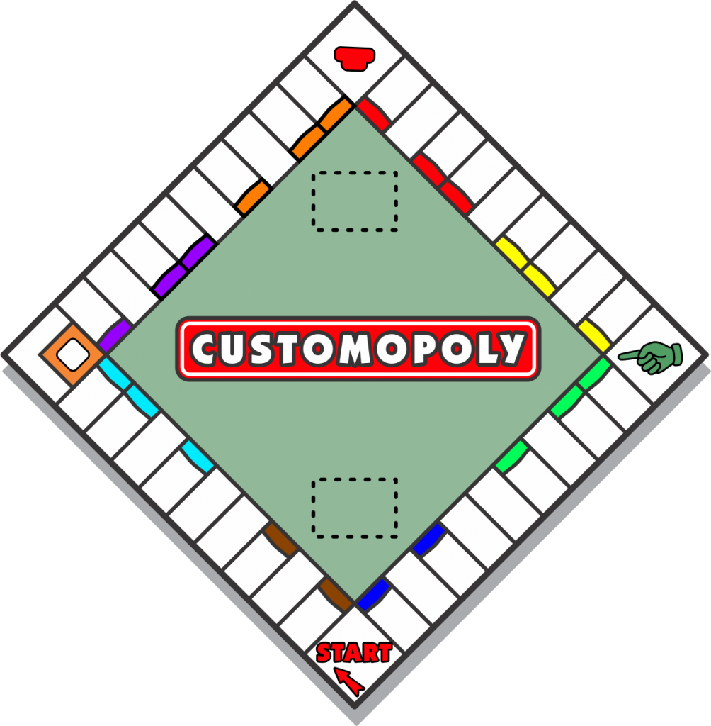 Customized Fundraiser Monopoly Board Game Company