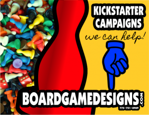 Custom Card Games, Trading Cards, RPG Games, Fantasy Adventure Games on Kick Starter Campaigns: We Can Help!