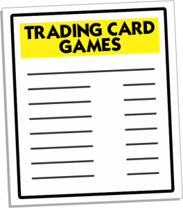 Trading Card Games, RPG Game Manufacturers