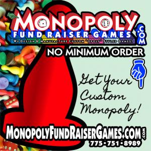 Custom Monopoly Fund Raiser, Make Your Own Monopoly Game Set