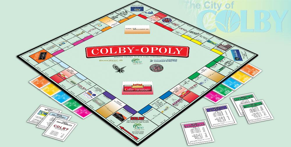 Colbyopoly Monopoly Game
