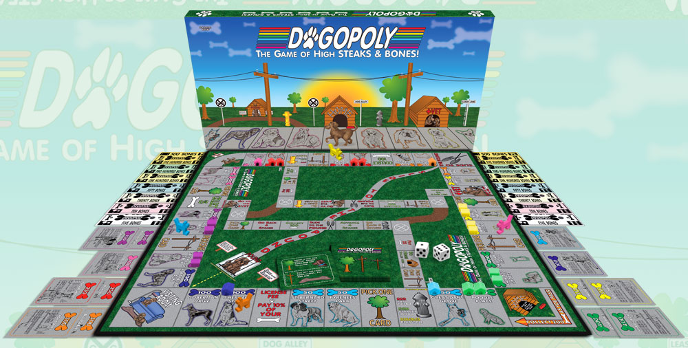 Dogopoly Monopoly game