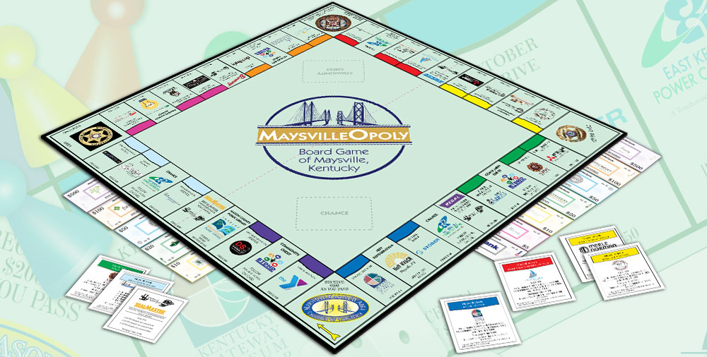 Maysville-opoly - Maysvilleopoly Monopoly Game
