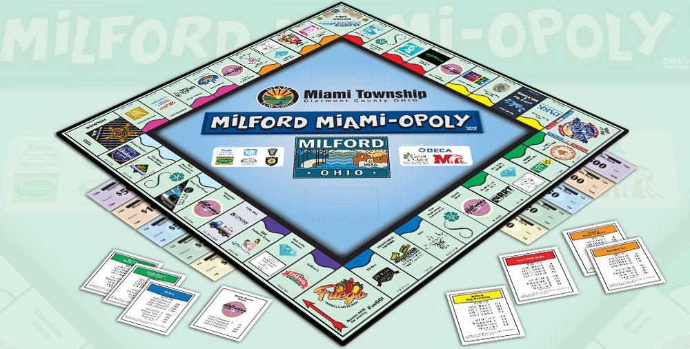 Milford-opoly - Milfordopoly Monopoly Game