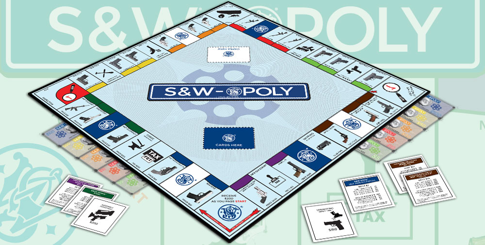 Smith & Wesson Monopoly game